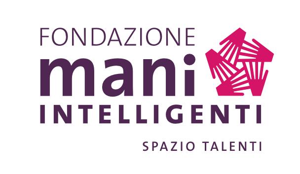 Nuovo logo di Fondazione Mani Intelligenti